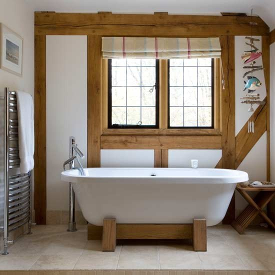 Modern Meets Country Style In The Bathroom House Of Ana S